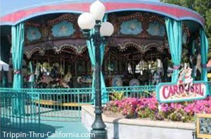 Carousel at Adventure City