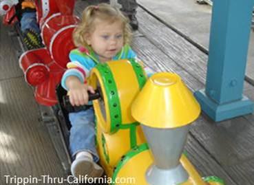 Crank n' Roll ride at Adventure City
