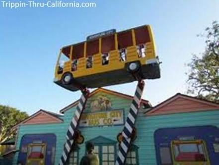 Crazy Bus ride at Adventure City