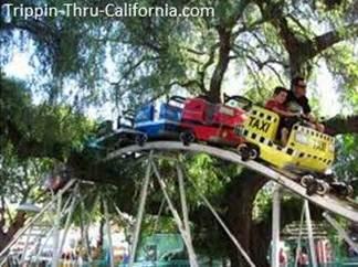 Freeway Coaster ride at Adventure City