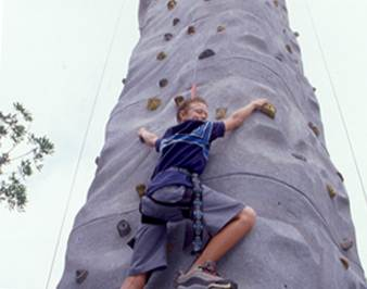 Rock Climbing at Adventure City