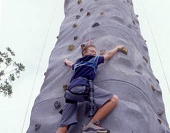 Rock Climbing at Adventure City
