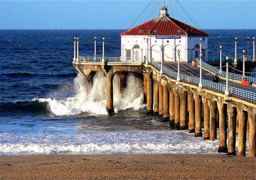 Manhattan Beach Wallpaper: Fun In Manhattan Beach California