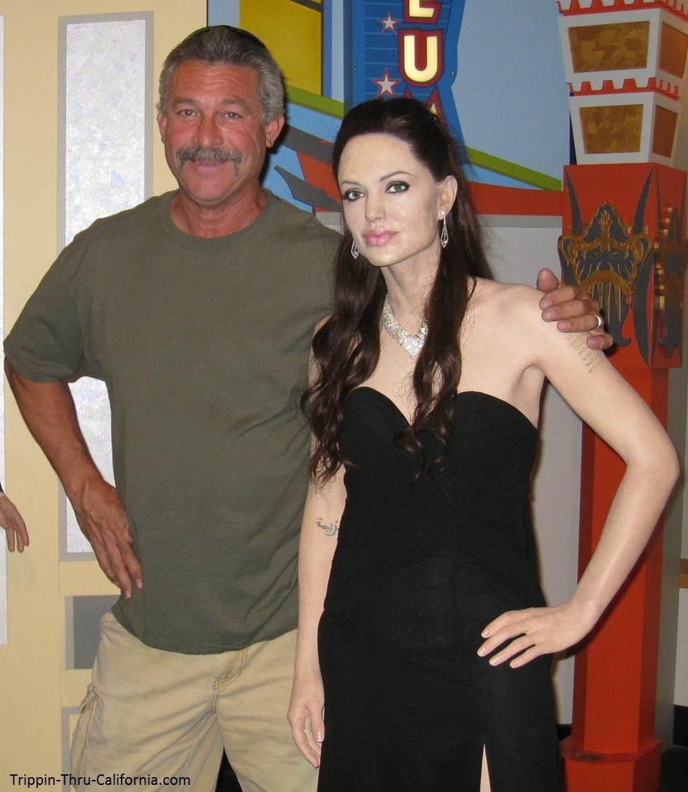 Angelina Jolie at the Angelina Jolie at the Hollywood Wax Museum