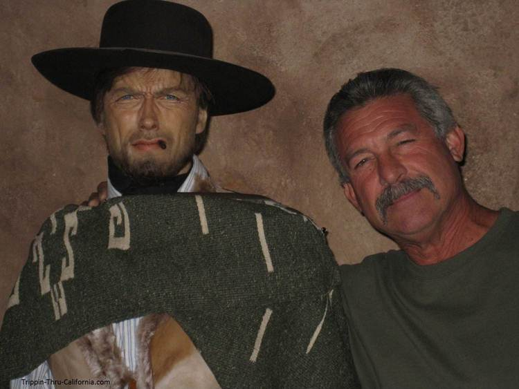 Clint Eastwood at the Hollywood Wax Museum