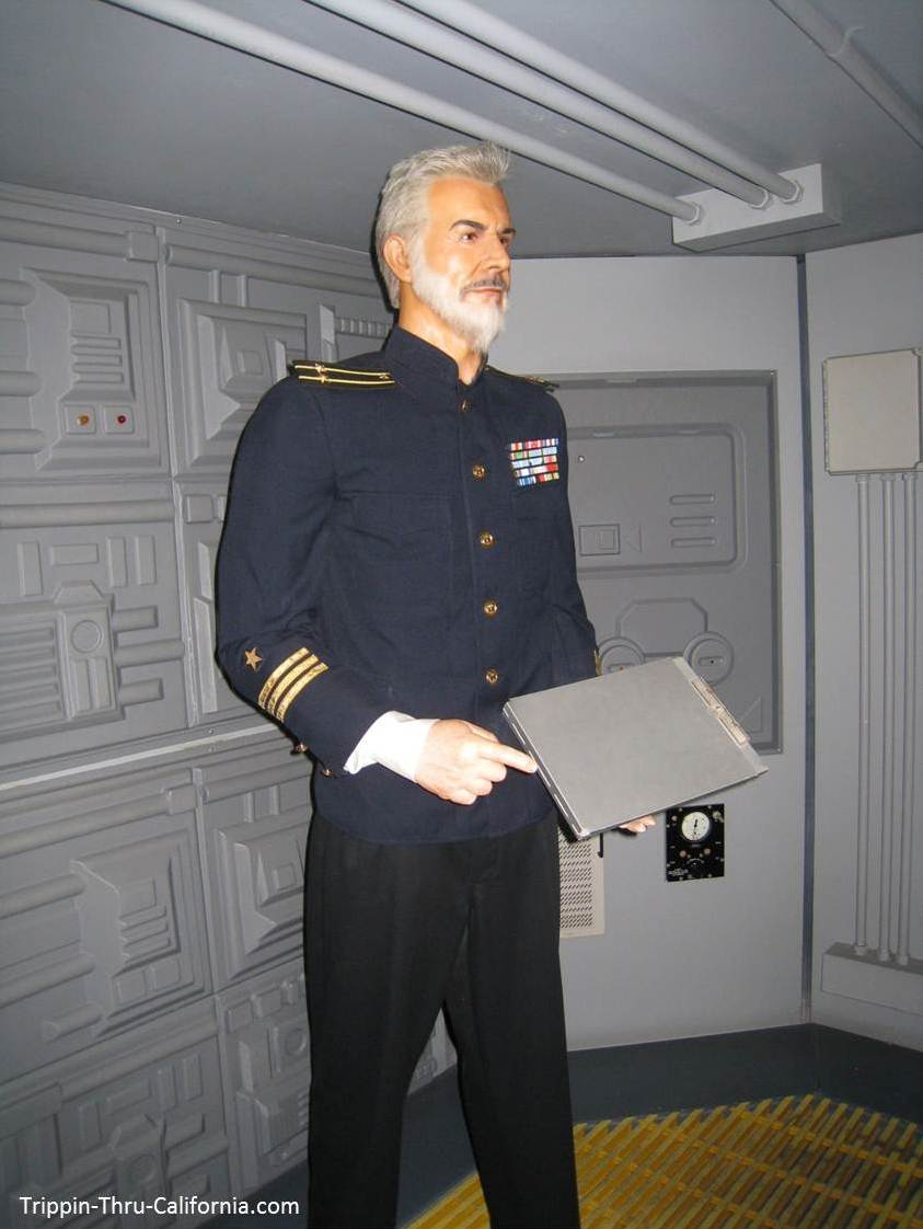 Sean Connery at the Hollywood Wax Museum
