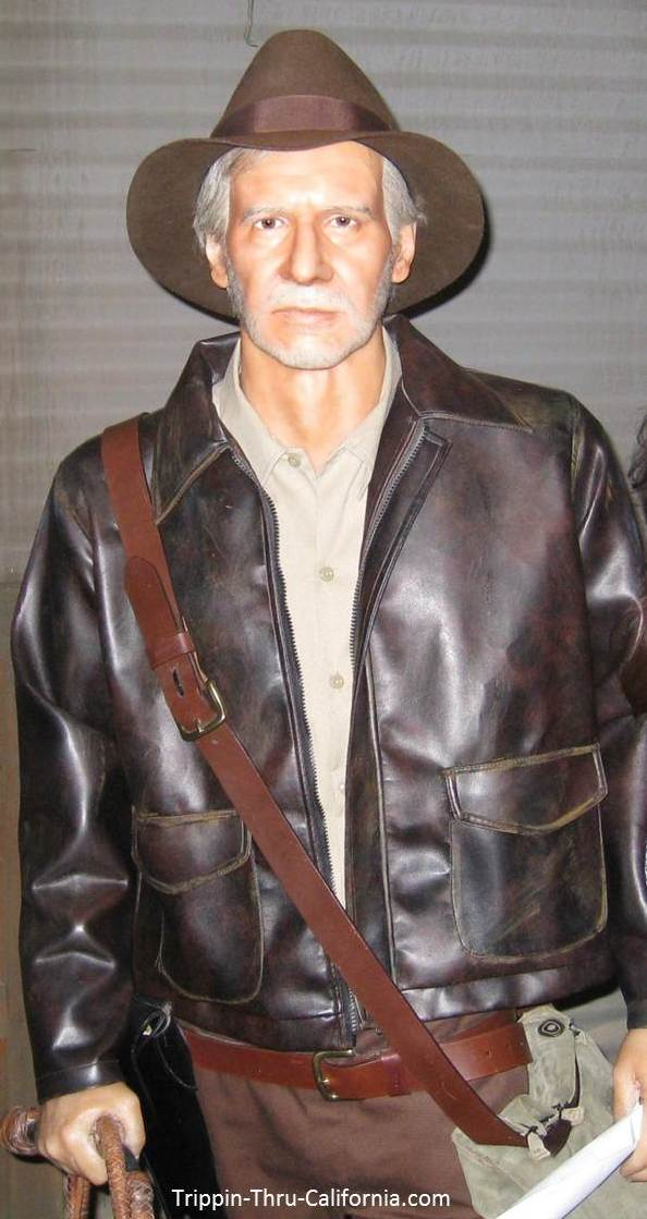 Harrison Ford at the Hollywood Wax Museum