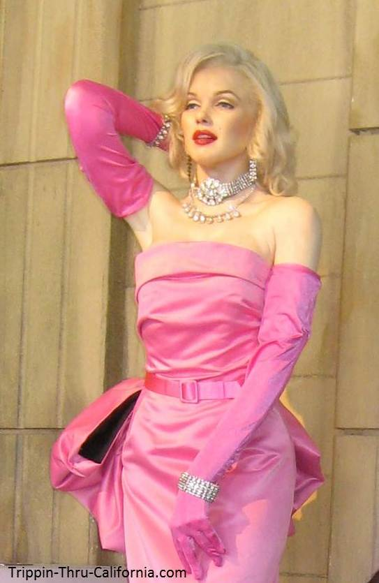 Marilyn Monroe at the Hollywood Wax Museum