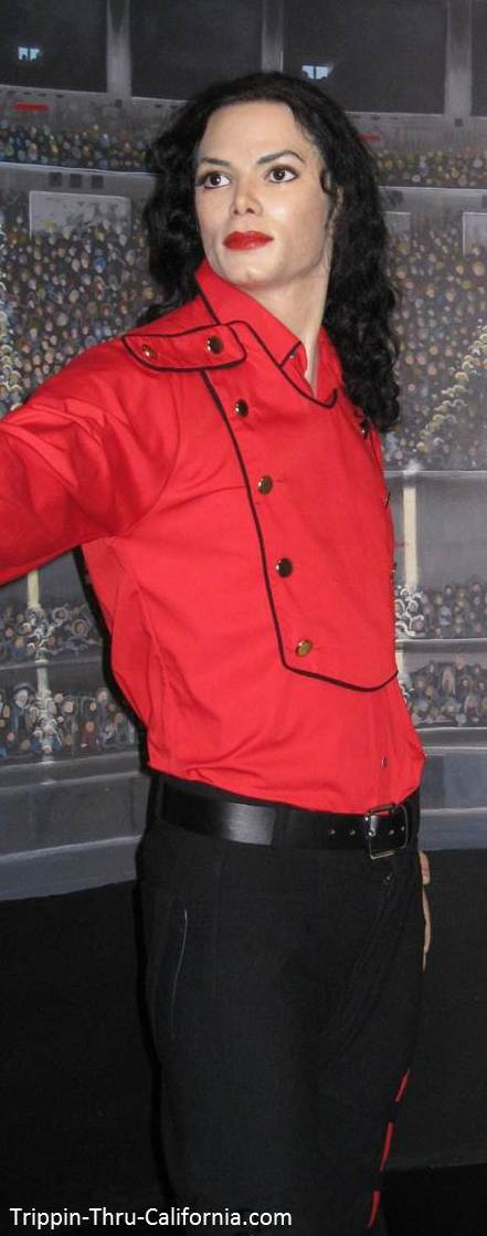 Michael Jackson at the Hollywood Wax Museum