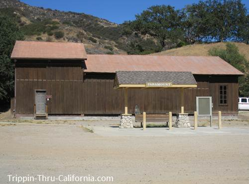 Paramount Ranch Fire Station...