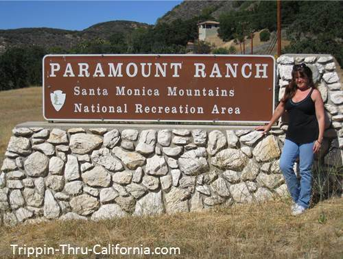 Patty at Paramount Ranch...