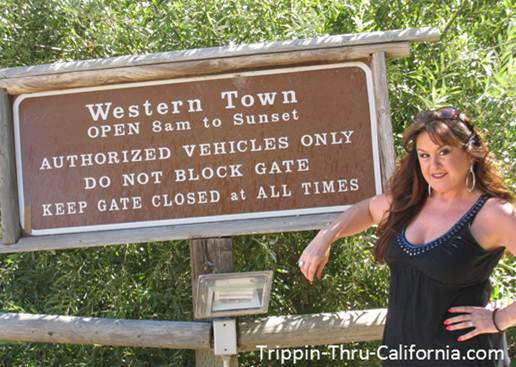 Paramount Ranch Western Town..