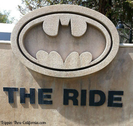 Six Flags Magic Mountain Bat Man The Ride