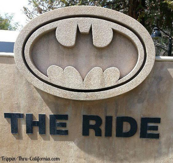 Six Flags Magic Mountain Bat Man The Ride