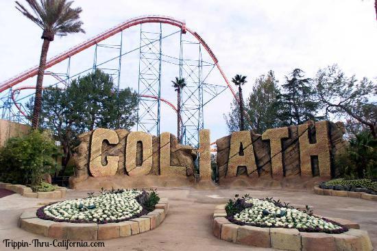 Six Flags Magic Mountain Goliath
