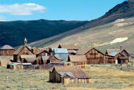 Bodie Ghost Town..