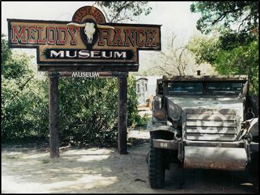 Melody Ranch Museum..