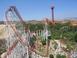 Viper at Six Flags Magic Mountain..