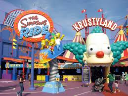 The Simpsons Ride..