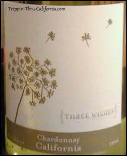 Three Wishes Wine Label...