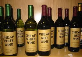 Cheap Wine...