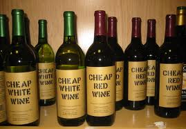Cheap Wine...