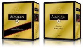 Almaden Box Wine..