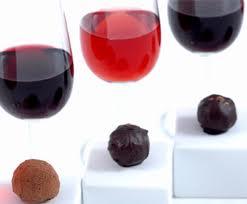 Dessert Wine and Chocolate..