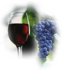 Red Wine and Grapes...