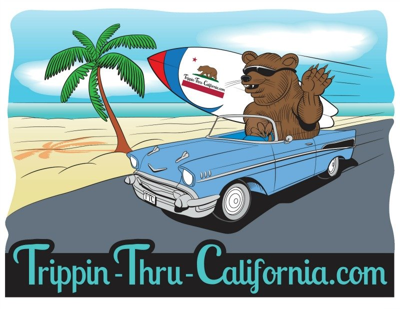TrippinThru-California.com Logo