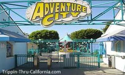 Entrance to Adventure City Theme Park in California