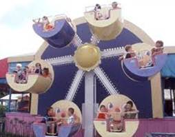 Giggle Wheel ride at Adventure City