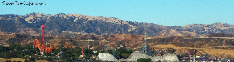 Six Flags Magic Mountain California