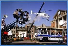 Universal Studios in Action