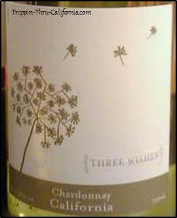 Three Wishes Wine Label...